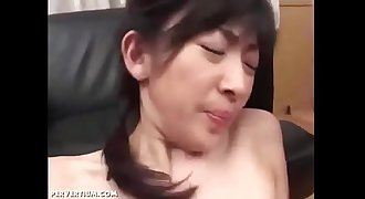 Japanese Gets Fucked And Double Facialized