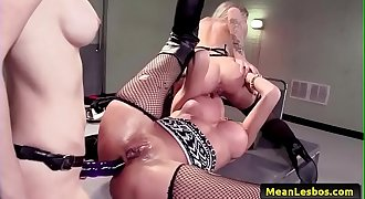 Hot and Mean Lesbians - Hot Cop Mean Cop with Jessa Rhodes &amp_ Kayla Carrera &amp_ Kendra James 03
