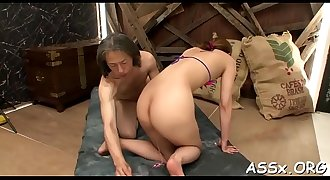 Wicked and lusty oriental anal play