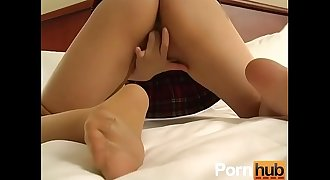 Asian Pantyhose 1 - Scene 3