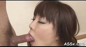 Raucous assfuck for breasty oriental chick
