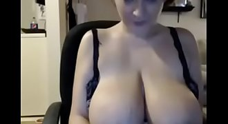 Girl licks and deepthroats nipples, spreads cunt and play on cam - Mygirlswebcam.com