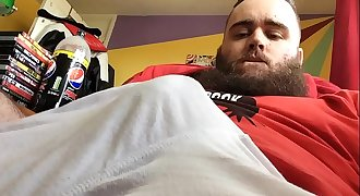 Leaked - YouTuber Shows Off His Fat Cock On Cam