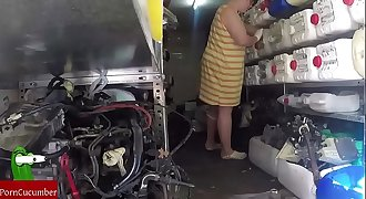 Switches and repairs to the bottom. Homemade amateur voyeur spycam  CRI065
