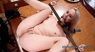 Upper floor anal threesome banging